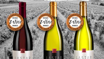 IWC 2019: Tri medalje za vinariju Lastar